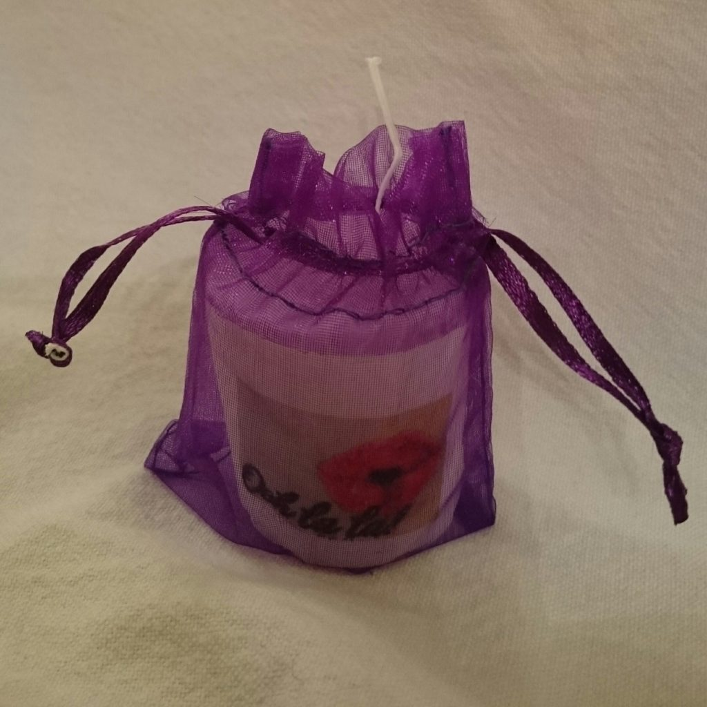 Hand Poured Candle - Design Your Own - Printed Pillar Candle - In Gift Bag