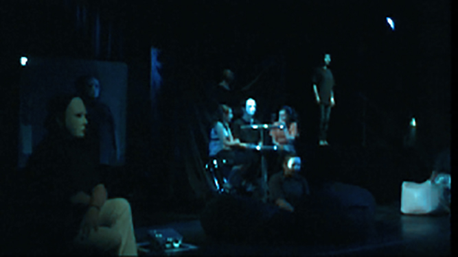 Art Undefined Theatre Arts and Multimedia Performance Silence Shouts at Luton Library Theatre