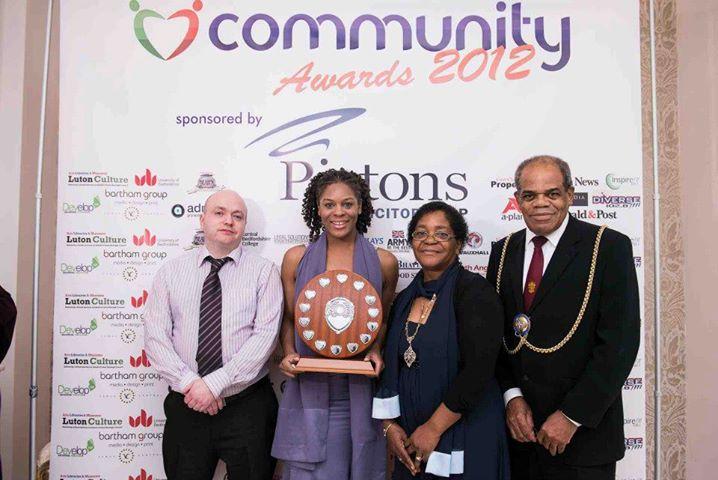 Debra Knight / NINE RED Presents Luton Community Awards Winner of the Winners 2012