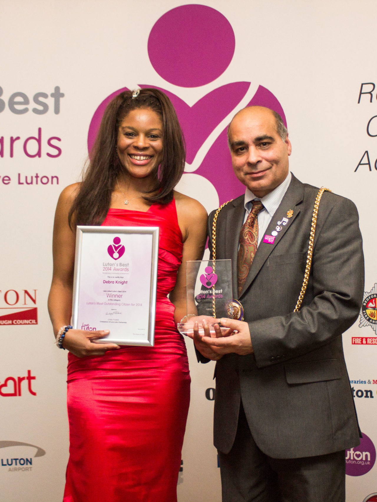 NINE RED Presents / Debra Knight Luton's Best Awards 2014 Most Outstanding Citizen